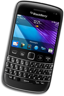 blackberry website design