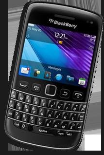 blackberry website design
